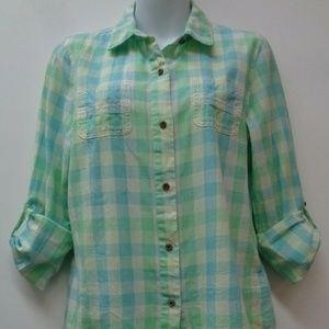 The North Face Vintage Medium Womens Top Shirt